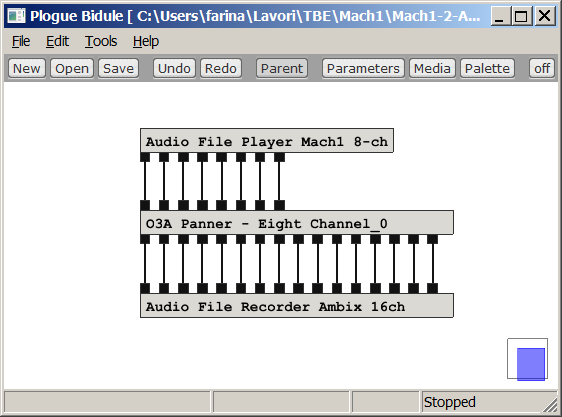 SPS and Mach1 spatial audio formats
